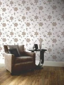 Anouska Wallpaper - Taupe from New A-Brend