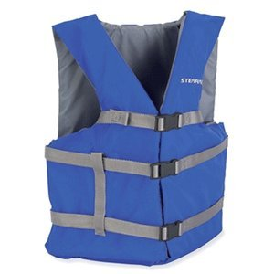 STEARNS CLASSIC SERIES ADULT UNIVERSAL LIFE VEST BLUE