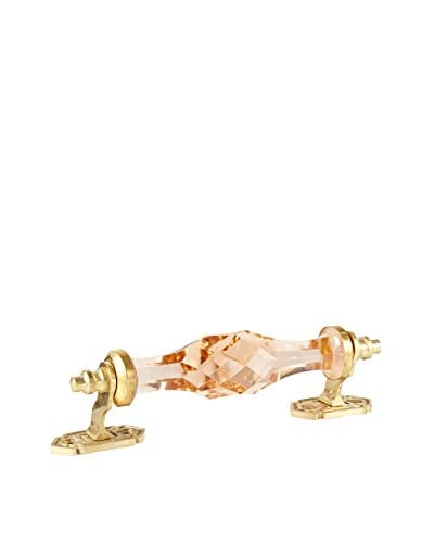 A. Sanoma Inc. Large Glass Pull, Champagne/Gold