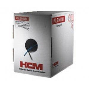 HITACHI 30025-8-BL2 / CAT6 Plus Plenum Reelex-Box Blue