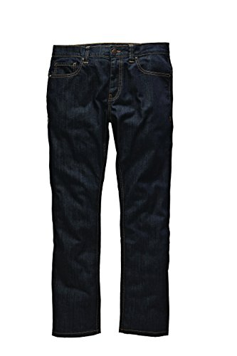 Dickies - Louisiana, Jeans da uomo, blu (rinsed), W28/L30