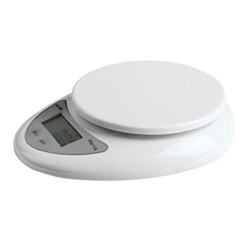 Fenrad®Nouvelle 5 kg 1 g 5 kg x 1 g 5 kg - 1 g 5000 g 1 g de cuisine électronique Portable poids numérique Food Diet poids Blance échelle WH-B05