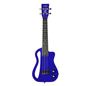 Eleuke Solid Body Electric Ukulele Concert MP3 - Blue CCK100BL-MP3