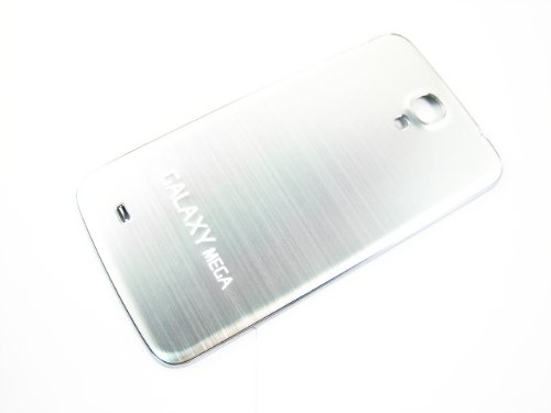 For Samsung Galaxy Mega 6.3 Gt-I9200 Metal Silver ~ Plastic Back Cover Housing ~ Mobile Phone Repair Part Replacement