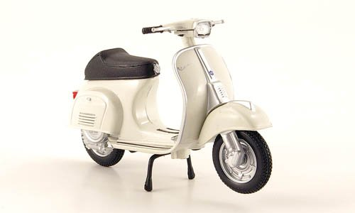 Vespa 50 Special, light grey , 1969, Model Car, Ready-made, Maisto 1:18 (Vespa Model compare prices)
