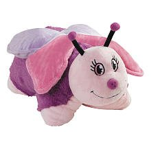 "Pillow Pets 11"" Pee Wees - Small Pink Butterfly"