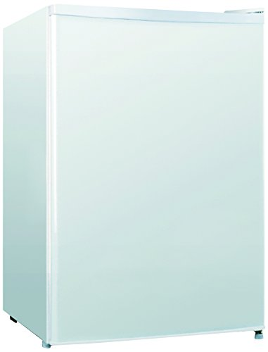 midea WHS-95RW1 Compact Single Reversible Door Refrigerator and Freezer, 2.6 Cubic Feet, White