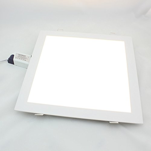 Twopages 24W 1920Lm Square Panel Downlight, Mount Hole 285*285Mm, 100~240V Input