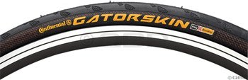 Continental Gatorskin Bicycle Tire (700x25, Wire Beaded, Black)