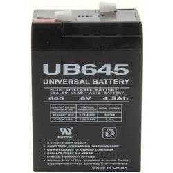 Ub645 6V 4.5Ah Oreck Electric Broom Av701B Replacement Battery back-57133