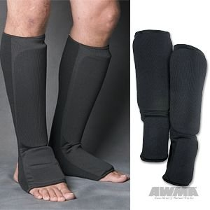 Proforce Cloth Shin Instep Guard Black, Medium #84971