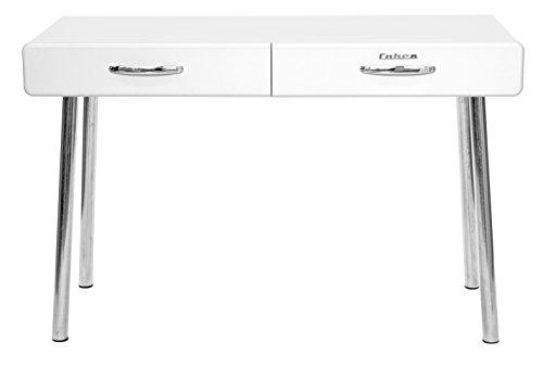 Tenzo-4950-001-Cobra-Designer-Schreibtisch-76-x-120-x-50-cm-MDF-lackiert-wei
