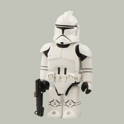 Star Wars Kubrick Series 9 clone troopers (EP2) (japan import)