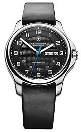Victorinox Swiss Army Officer's Day/Date Mechanical with Pocket Knife Men's watch #241546.1