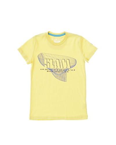 Slam Camiseta Manga Corta Emine Amarillo