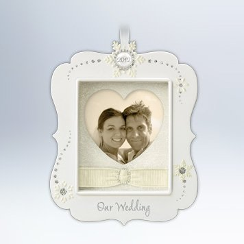 Our Wedding 2012 Hallmark Ornament