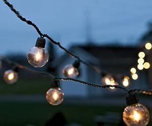 Globe Lights String Lights Patio Lawn Garden