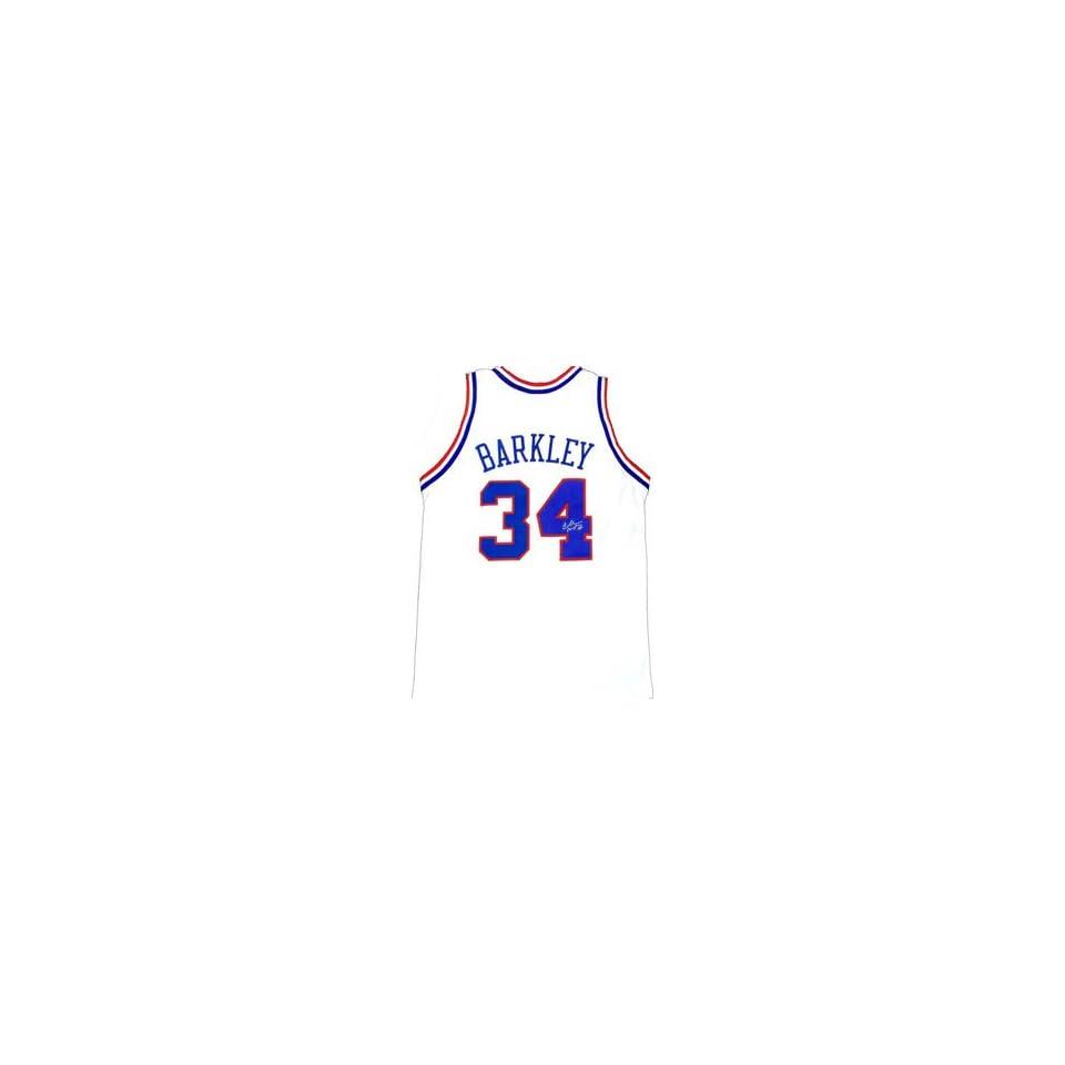 96a5468b8f2f Charles Barkley Memorabilia Signed Philadelphia 76ers Jersey on ...