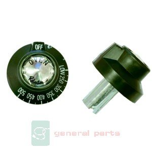 Garland Commercial Industries 224022 Knob,Bj Oven Thermostat 1 1/4S front-165426