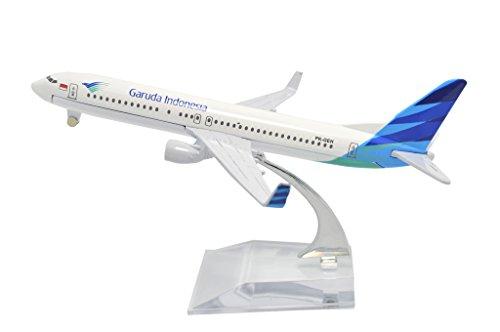 TANG DYNASTY(TM) 1:400 16cm Boeing B737 Garuda Indonesia Metal Airplane Model Plane Toy Plane Model (Garuda Indonesia Die Cast compare prices)