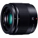 Panasonic マイクロフォーサーズシステム用 25mm F1.7 単焦点 標準レンズ LUMIX G ASPH. ブラック H-H025-K
