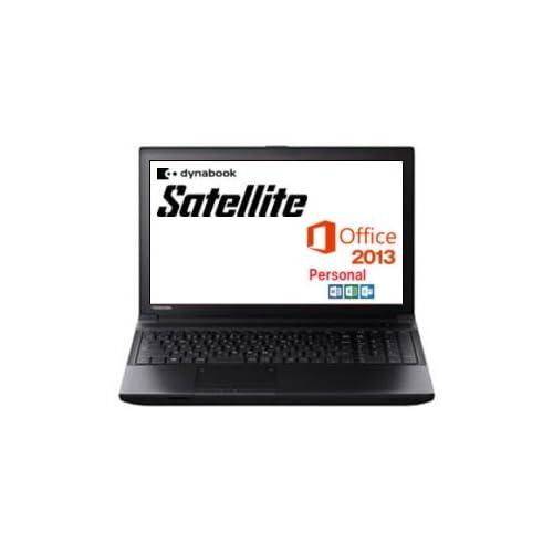 東芝 PB554LEBPR5HA71 dynabook Satellite Windows7Pro Core i5 2GB 320GB DVDスーパーマルチ 15.6型液晶 10キー付き MS Office Personal 2013搭載
