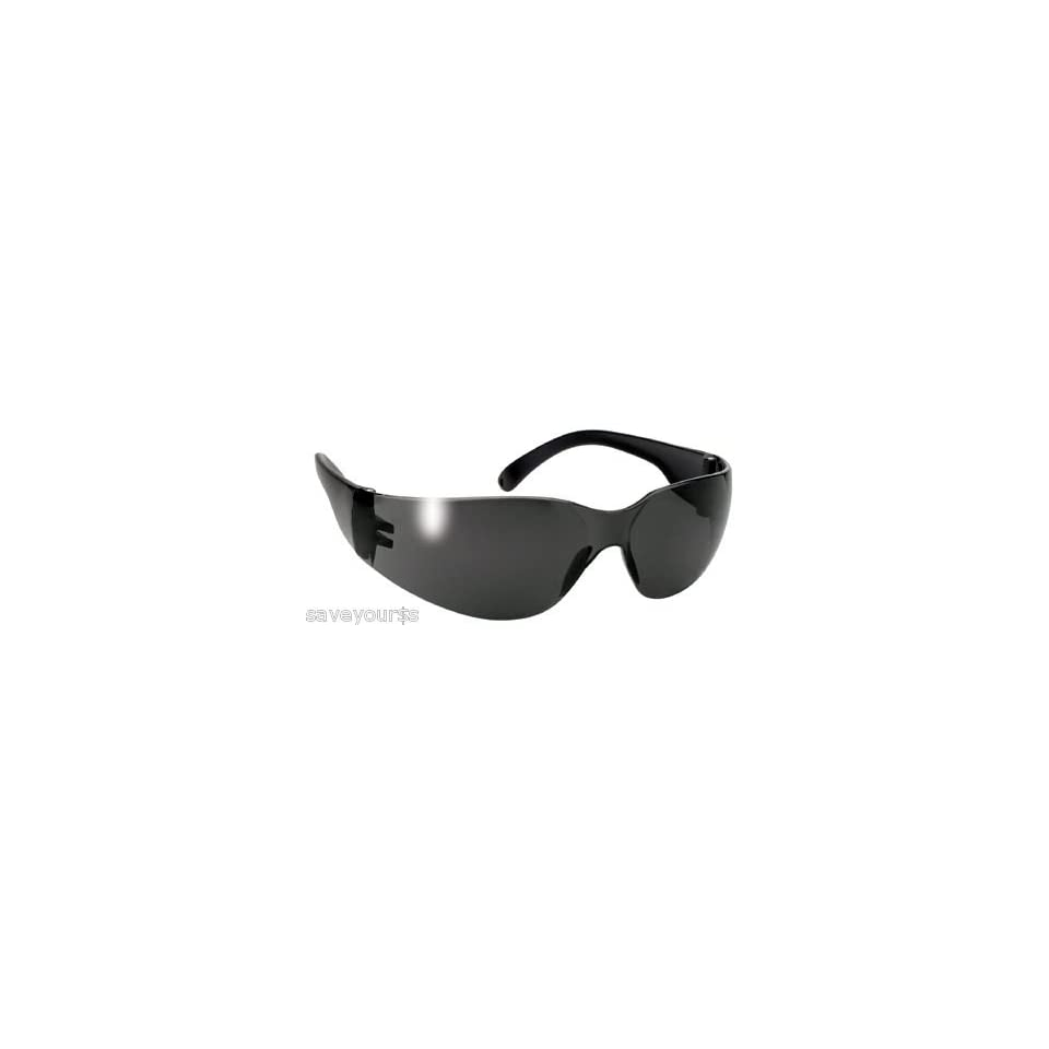 2ddb189d31ab2 Mask Black Frame Smoke Lens Unisex Biker Sunglasses on PopScreen