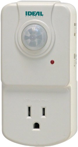 Ideal Security SK624 Smart Motion Activated Electrical Outlet