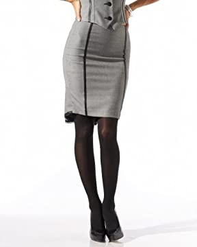 bebe.com : Piped Birdseye Pencil Skirt :  piped birdseye pencil skirt com piped bebe