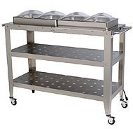 Cheap Broil King Jumbo Size Buffet Warming Cart with Individual Lids (B002JANA3I)