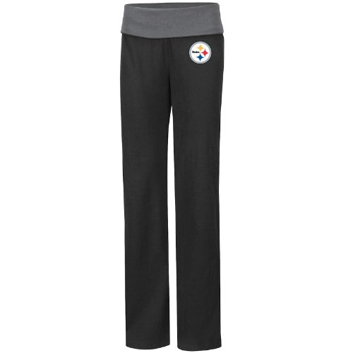 6b23b7e8 Buy the Pittsburgh Steelers Black Final Days II Womens Yoga Pants at ...
