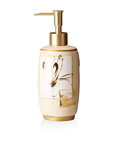 Creative Bath Floral Design Lotion Bottle, Multi