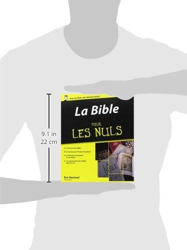 La bible pour les nuls eric denimal first eric denimal auteur francais broche - La bible pour les nuls ...