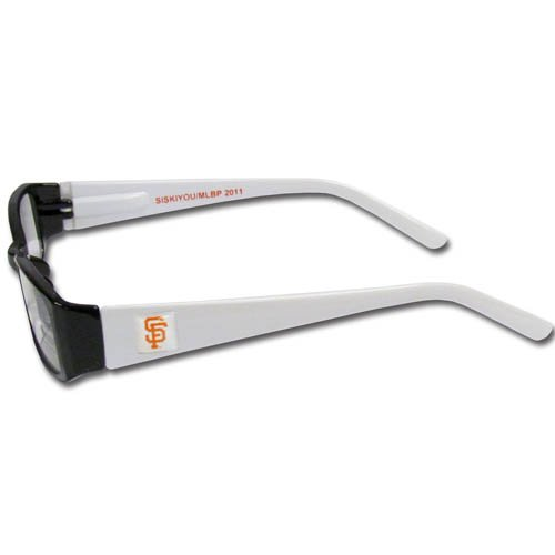 mlb team color reading glasses 2 25 san francisco giants