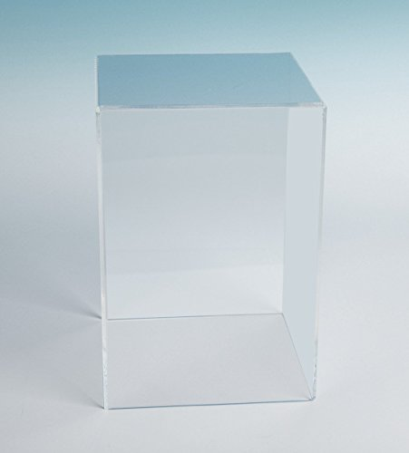 Acrylic Box Case (18Hx12Wx12D - 3/16 thick) | 5 Sided Acrylic Cube | Thick Museum Box Case (Acrylic Display Doll compare prices)
