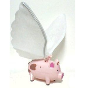 Flying Pig with Flapping Wings