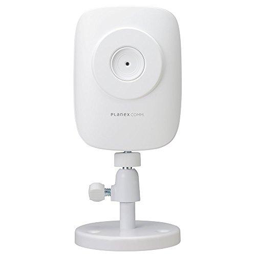 PLANEX ネットワークカメラ(スマカメ)マイク内蔵・iPhone/Android/Windows対応 CS-QR10 -
