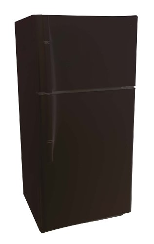 Haier PRTS21SACB 20.7 Cubic Feet Energy Star Top Mount Refrigerator, Black