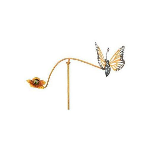 Red Carpet Studios 34273 28-Inch Mini Balancing Yard Art, Butterfly