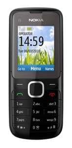 Nokia C1-01 Téléphone portable GSM/GPRS/EDGE Bluetooth Anthracite