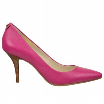 Michael Michael Kors Women'S Mk Flex Mid Pump (Fuschia Leather 7.5 M)