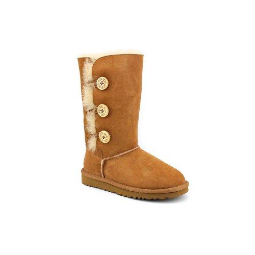 ugg-australia-bailey-button-triplet-chestnut-womens-boots-size-4-uk