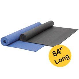 Imagen de YogaAccessories (TM) Extra Largo 1/4'' Deluxe Yoga Mat - púrpura oscuro, de color púrpura oscuro