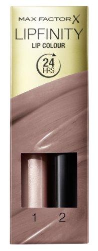 Max Factor Lipfinity Lipstick for Women, # 190 Indulgent, 0.14 Ounce