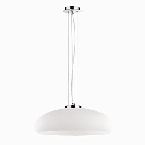 Ideal-Lux-Aria-SP1-D50-Bianco-Lampada-a-Sospensione-Vetro-Bianco