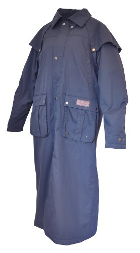 Mark Todd Winton Full Zip Long Riding Coat - Navy, X-Small