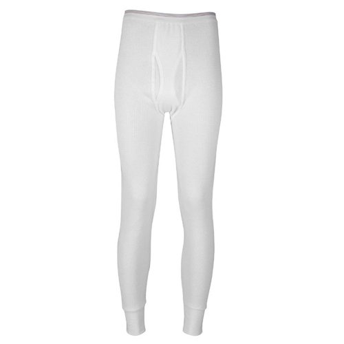 Indera - Mens Icetex Dual Face Fleeced Thermal Long John Pant 286DR, White 23495-Small (Arctex Thermal Underwear compare prices)