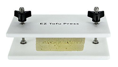 Tofu in orange sauce: use the EZ Tofu Press to get the flavor in your tofu!