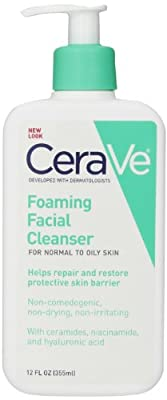 CeraVe Foaming Facial Cleanser,