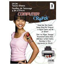 Cre8 Ink Jet Tattoo Sheets